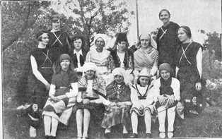 Hartley League of Nations Union Pageant 1931