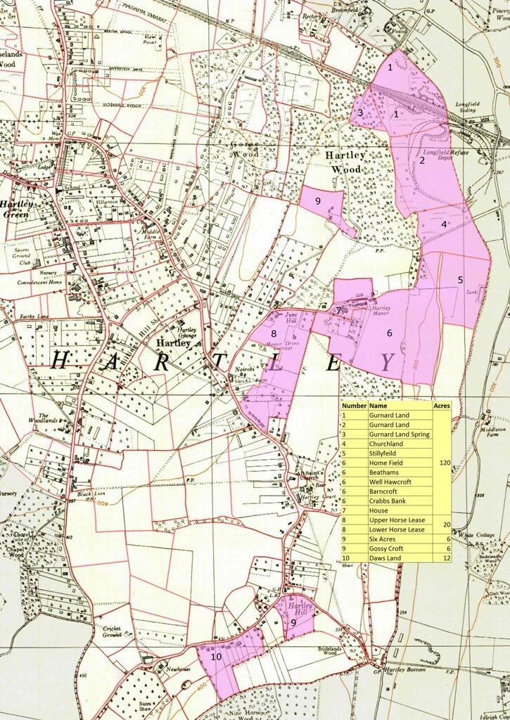 Conveyance of Daltons (Hartley Manor Farm), Hartley, 12 June 1633