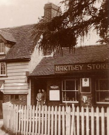 Black Lion Shop, Hartley, Kent