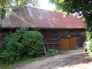 The 200 year old barn at Hartley Wood Corner