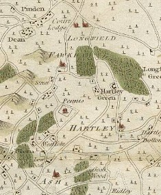 Hartley - Andrews, Drury and Herbert Map 1769