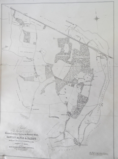 Map of Manor Estate 1901
