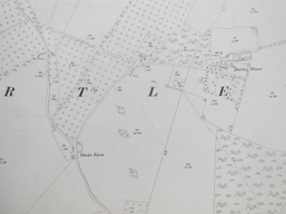Ordnance Survey 25 inch map 1908
