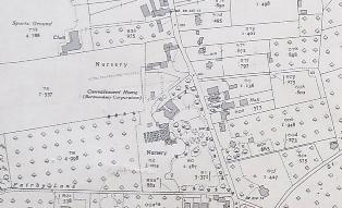 Ordnance Survey 25 inch map 1936-1938