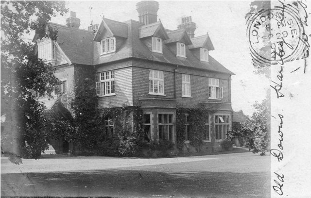 Old Downs House in 1903