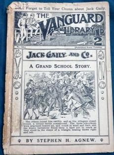 Hartley-Kent: Vanguard Comic published by George Trapps