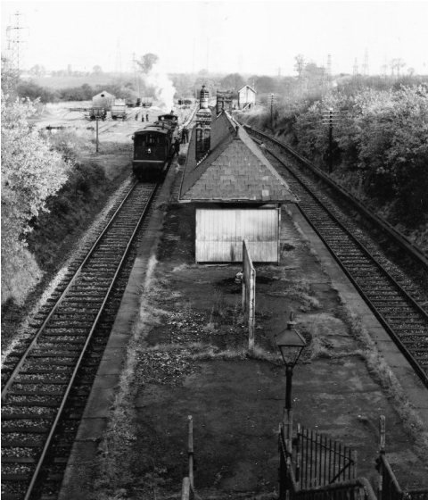 Southfleet Station in 1957