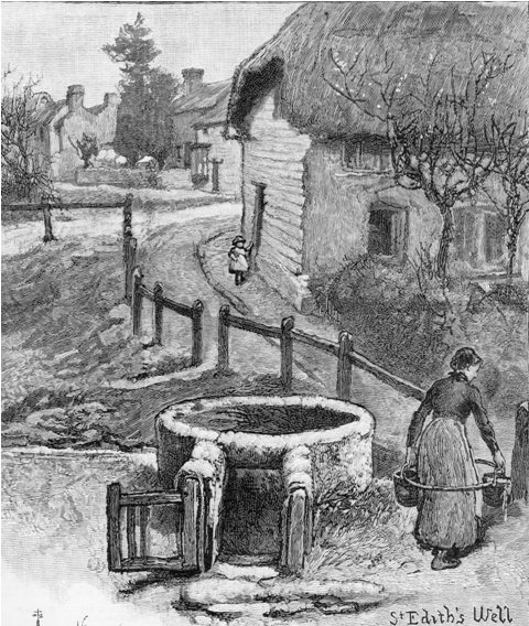 Hartley-Kent: Carrying water at Kemsing 1885