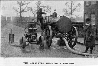 Hartley-Kent: Cesspool emptying at Colnbrook 1915