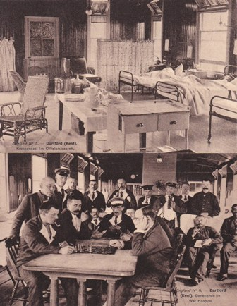 German WW1 prisoners at Lower Southern Hospital