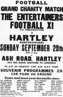 Hartley-Kent: Football match where Downs Valley is today, about 1962