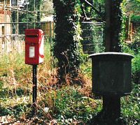 Letter box in Manor Drive, Hartley, Longfield, Kent
