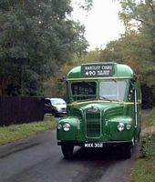 Church Road, Hartley, Kent - 1950s bus on vintage bus day 2004