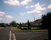 Larksfield, Hartley - junction with Gresham Avenue