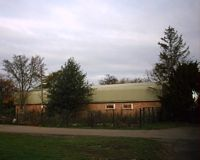 Larkwell Lane and Scout Hut, Hartley