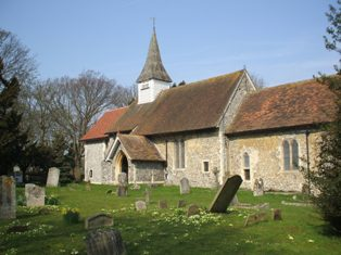 All Saints' Church, Hartley, Kent in 2013