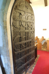 All Saints' Church, Hartley, Norman Door