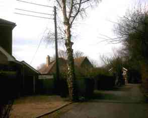 Hartley-Kent: Fairby Lane High Leigh to end of road