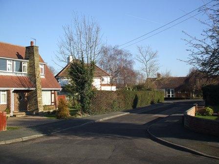 Hartley-Kent: Entrance to Beechlands Close